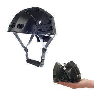 Plixi Fit Black Folding Helmet