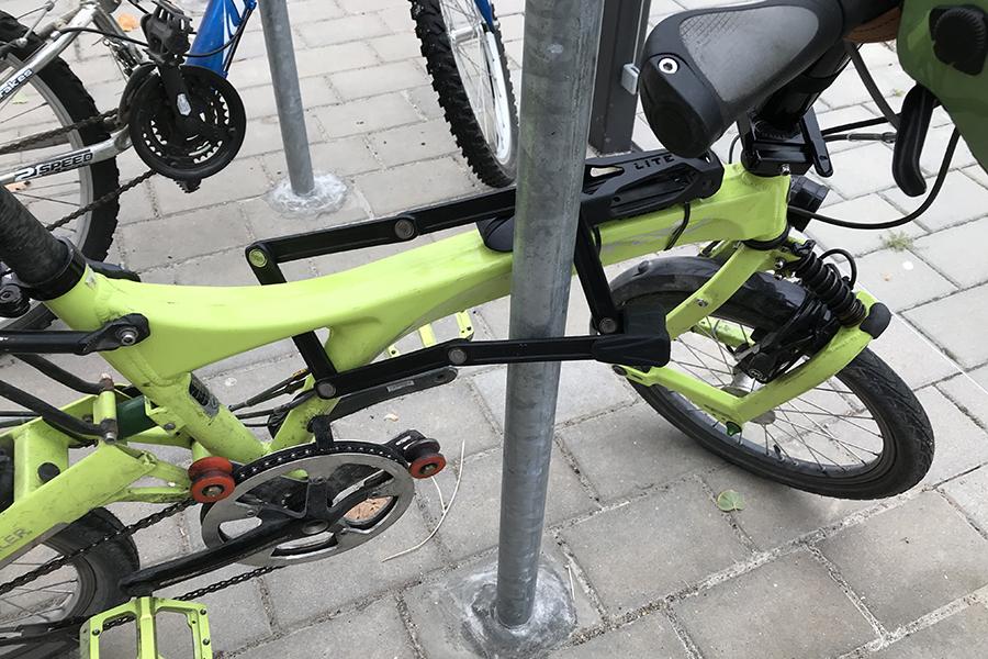 How Do I Lock Up A Folding Bike