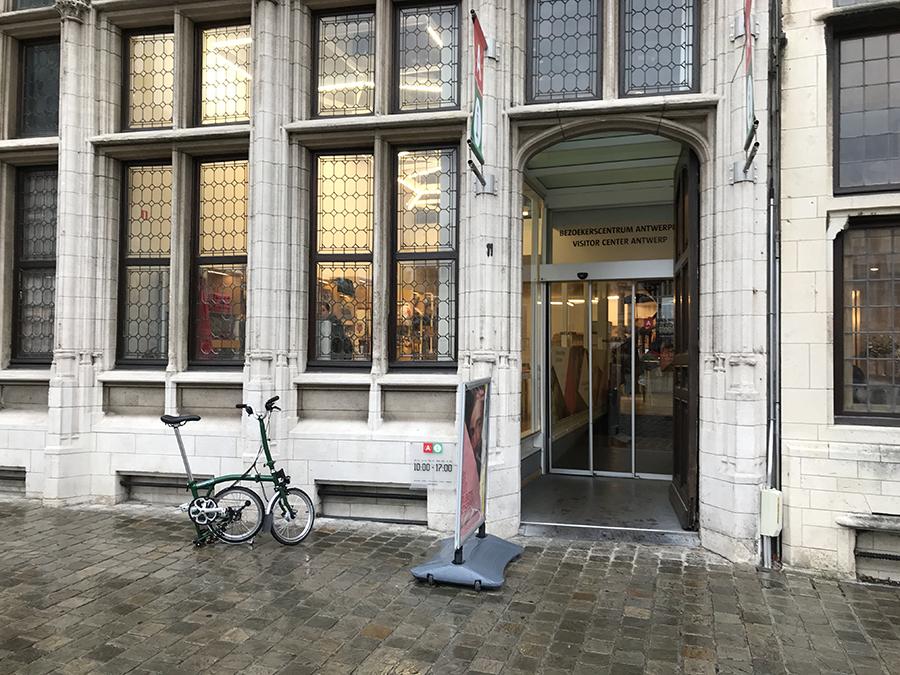 Antwerpen Grote Markt Visitors Center
