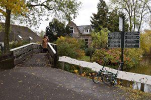 Giethoorn Canal Walking Bridge