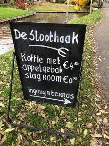 Restaurant in Giethoorn