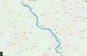 Oberwesel to Boppard