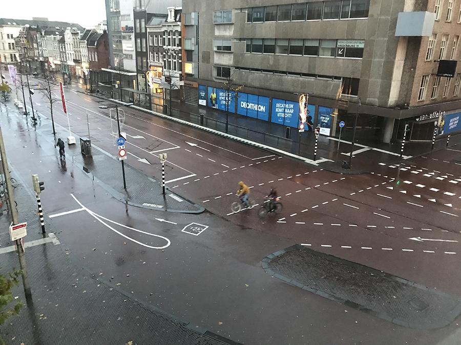 Driving in Utrecht