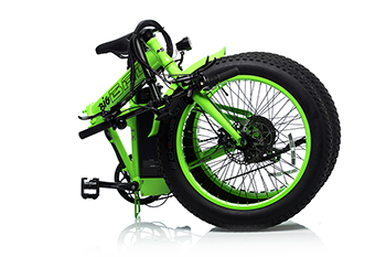 Big BAD Folded Electric Bike