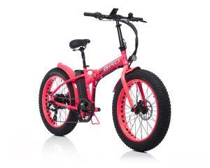 Big BAD Pink Shocking Electric Bike