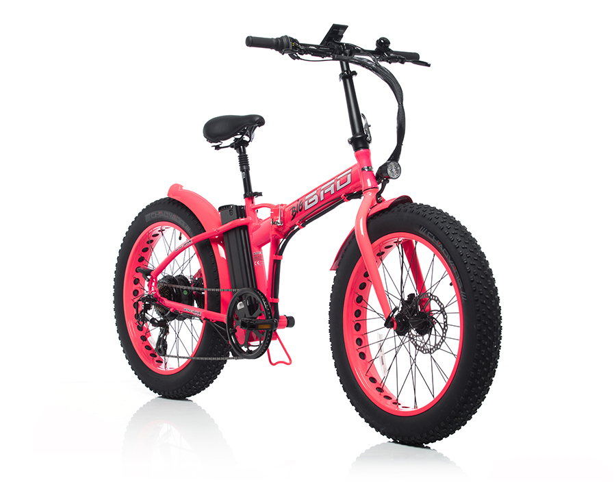 Big BAD Pink Shocking Electric Bike